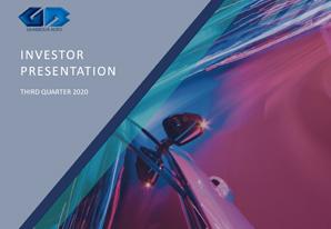 3Q 2020 GB Auto Investor Presentation