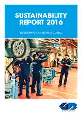 تقرير الاستدامة 2016 | إنجليزى