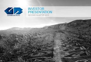 2Q 2015 GB Auto Investor Presentation