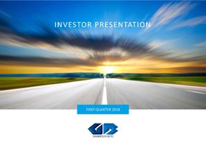 1Q 2018 GB Auto Investor Presentation