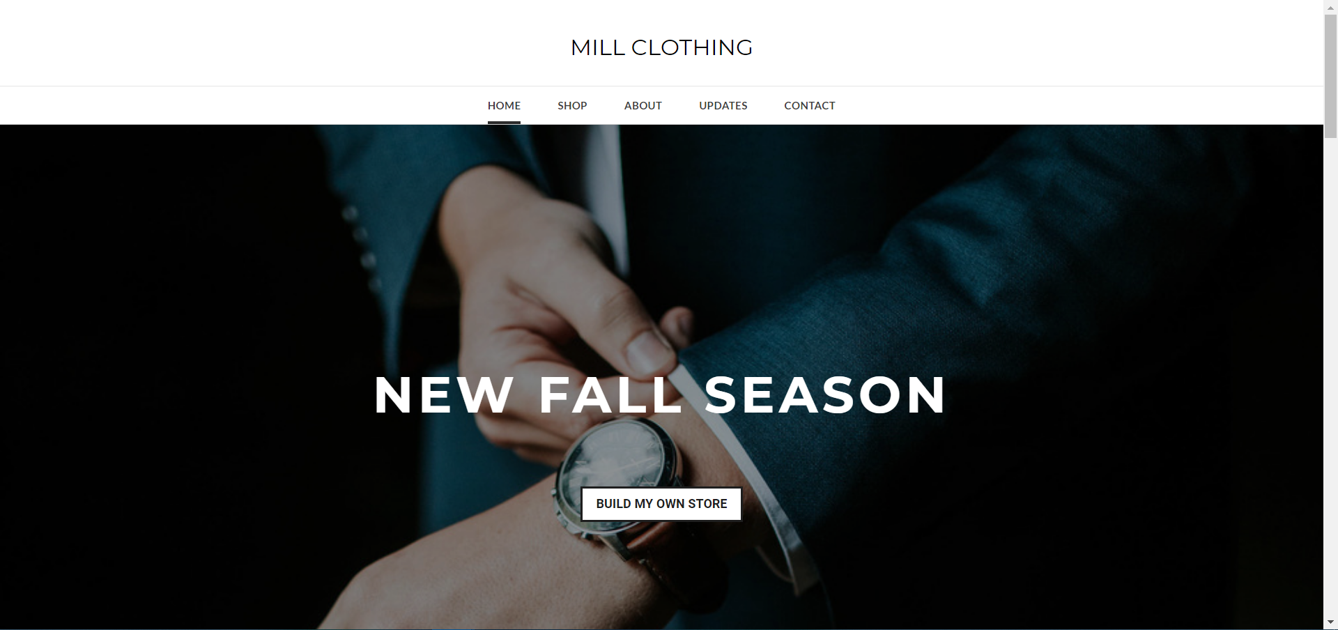 Easy Website Builders, Online Store Templates and Web