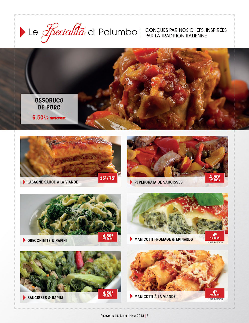 Intermarché Palumbo Catering Page 3