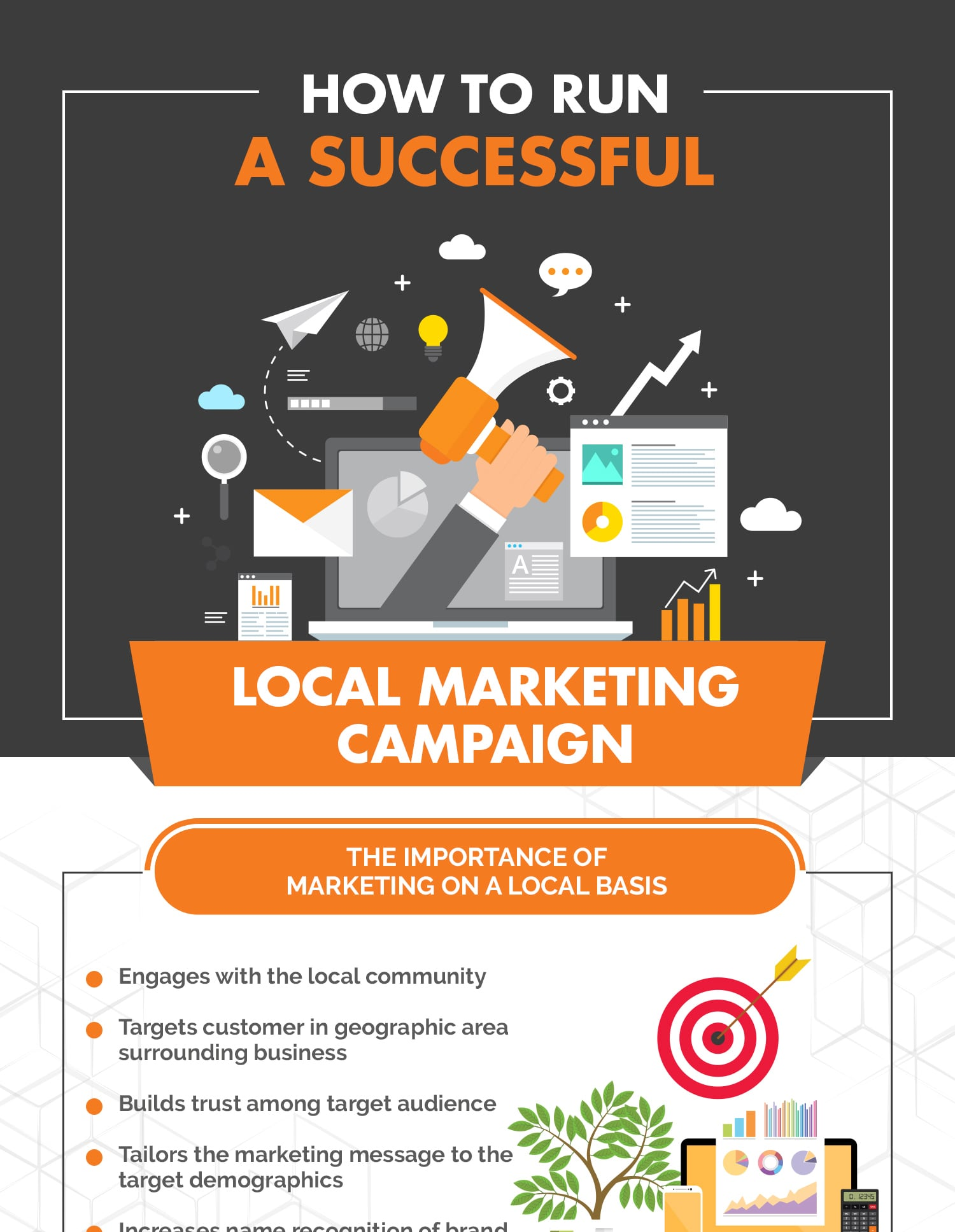 See how to run a successful local marketing campaign.