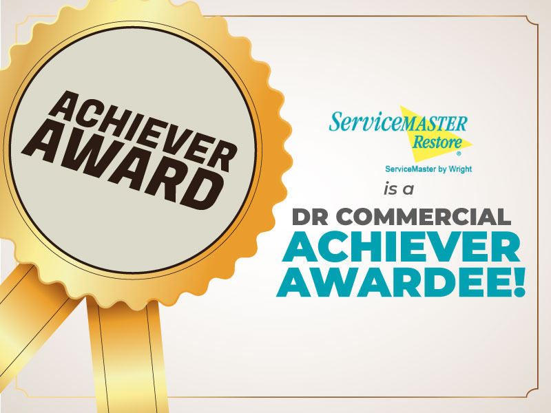 ServiceMaster Restore DR Commercial Achiever Award
