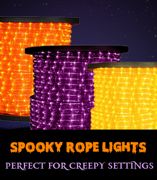 Halloween lights bulbs black lights glow sticks 1000bulbs rope lights aloadofball Images