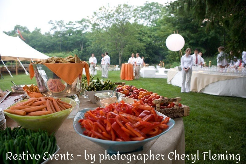 hamptons farm fresh upscale event
