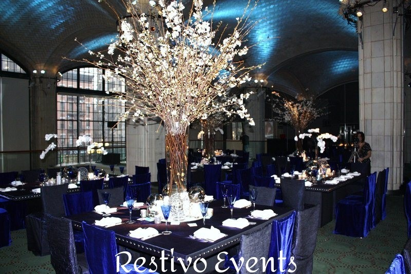 new york upscale elegant event catered and staffed by Restivo