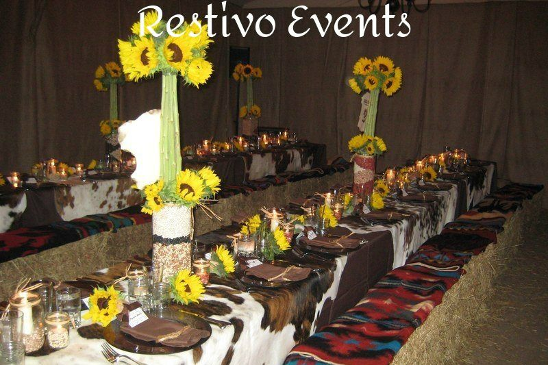 western theme party event