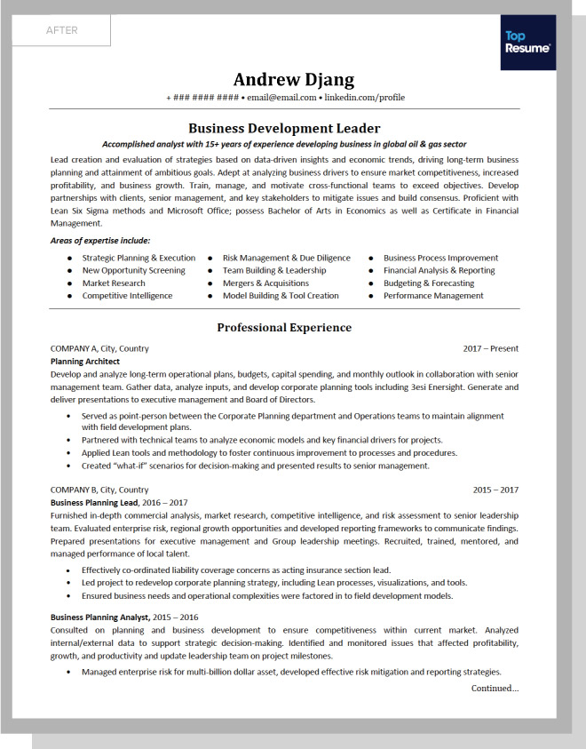 What Andrew Needed To Turn His Resume Into A Truly Effective Document Was Professional Hand Like Dan Someone Who Knows The Ins And Outs Of Keywords