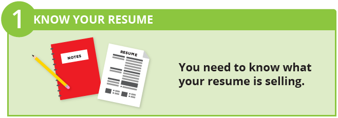 know your resume