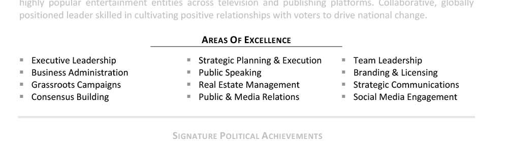 Areas Of Expertise  Areas Of Expertise Resume