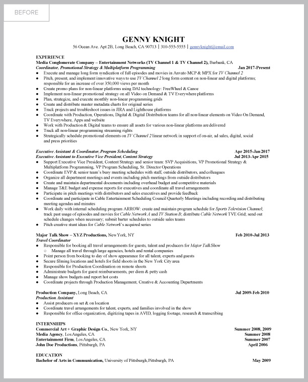 resume-makeover contest, resume confidence