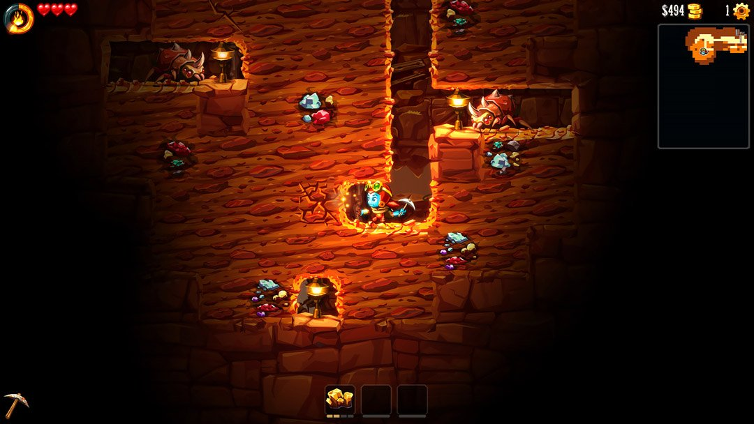 Steamworld Dig 2 review: Transforming dungeon-crawler RPGs into