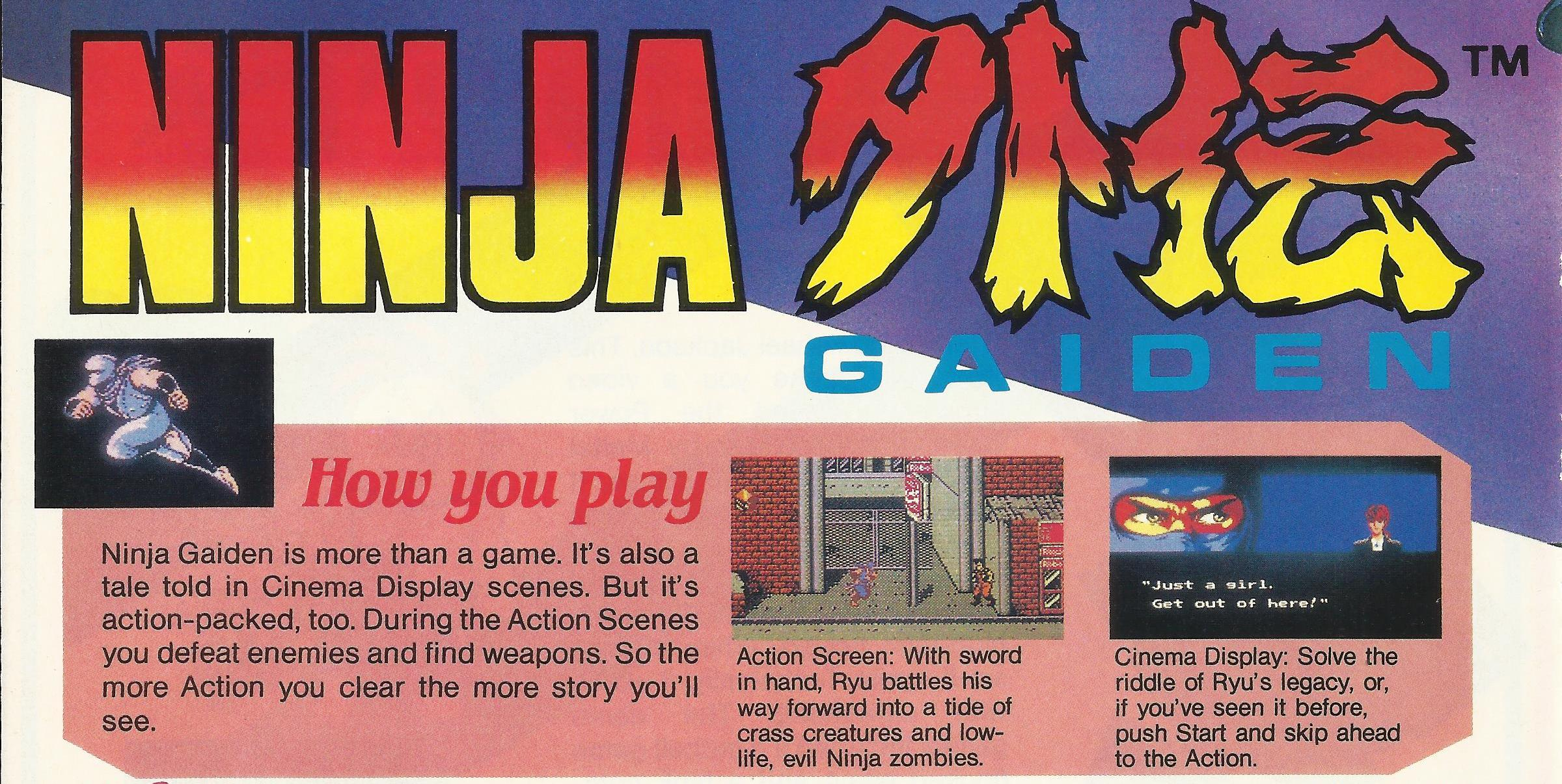 30 Years Ago Ninja Gaiden Predicted The Future Of Video Games