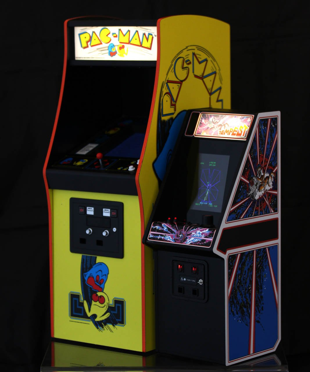 Modern mini-arcade cabs put a high-gloss twist on a classic