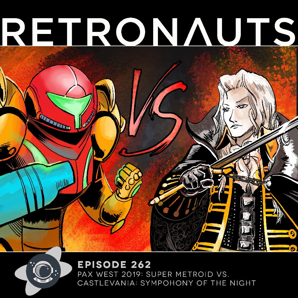 Retronauts Episode 262: PAX West 2019 - Super Metroid Vs. Symphony of the Night
