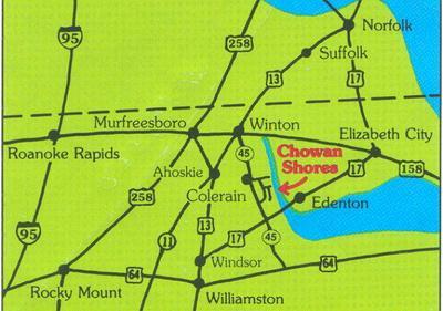 106 CHOWAN SHORES DR, Colerain, NC 27924 - Photo 1