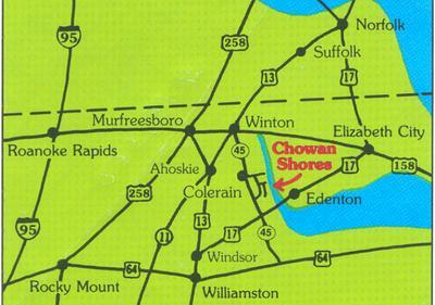 134 CHOWAN SHORES DR, Colerain, NC 27924 - Photo 1