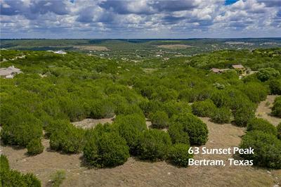 63 SUNSET PEAK, Bertram, TX 78605 - Photo 1
