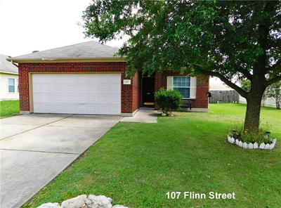107 FLINN ST, Hutto, TX 78634 - Photo 1