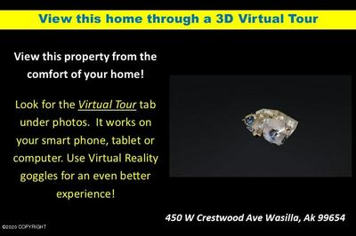 450 W CRESTWOOD AVE, Wasilla, AK 99654 - Photo 2
