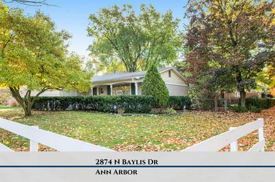 2874 BAYLIS DR, Ann Arbor, MI 48108 - Photo 1