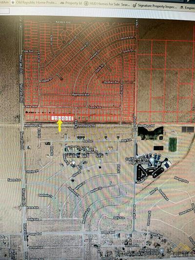 0 MENDIBURU RD., Calif City, CA 93505 - Photo 1