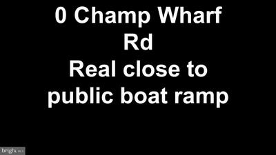 0 CHAMP WHARF ROAD, PRINCESS ANNE, MD 21853 - Photo 1