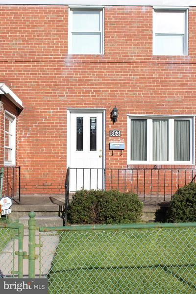 863 MILDRED AVE, BALTIMORE, MD 21222 - Photo 2