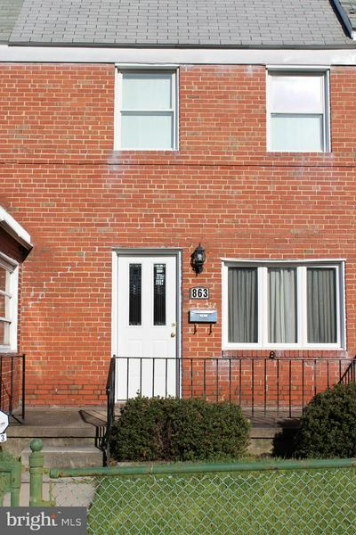 863 MILDRED AVE, BALTIMORE, MD 21222 - Photo 1