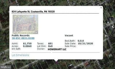 924 LAFAYETTE ST, COATESVILLE, PA 19320 - Photo 1
