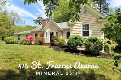 416 ST FRANCES AVE, Mineral, VA 23117 - Photo 1