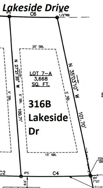 316A LAKESIDE DR, Surfside Beach, SC 29575 - Photo 1