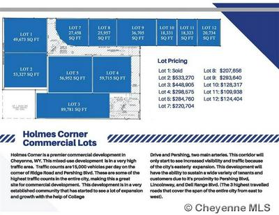 LOT 9 BLOCK 1 PERSHING BLVD, Cheyenne, WY 82001 - Photo 2