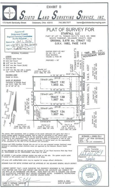 0 BRINDLE RD TRACT 13A, Ostrander, OH 43061 - Photo 2