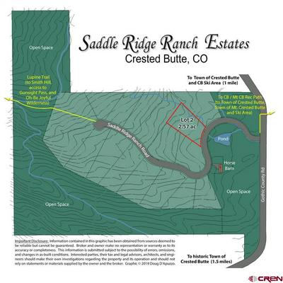 175 SADDLE RIDGE RANCH RD, Crested Butte, CO 81224 - Photo 1