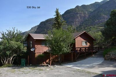 536 SKY JAL CT, Ouray, CO 81427 - Photo 1