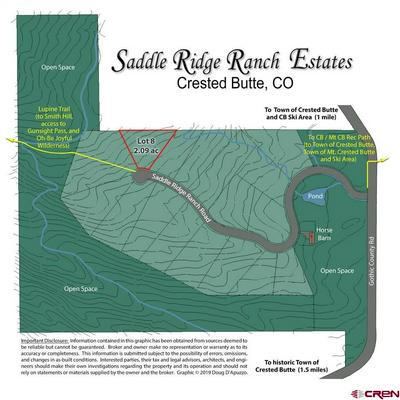 549 SADDLE RIDGE RANCH RD, Crested Butte, CO 81224 - Photo 1