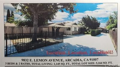 9832 E LEMON AVE, ARCADIA, CA 91007 - Photo 1