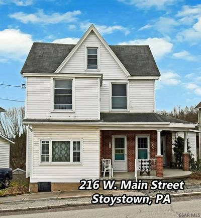 216 W MAIN ST, Stoystown, PA 15563 - Photo 1