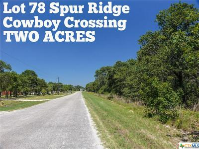 LOT 78 SPUR RIDGE, San Antonio, TX 78264 - Photo 1