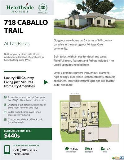 718 CABALLO TRL, Canyon Lake, TX 78133 - Photo 2