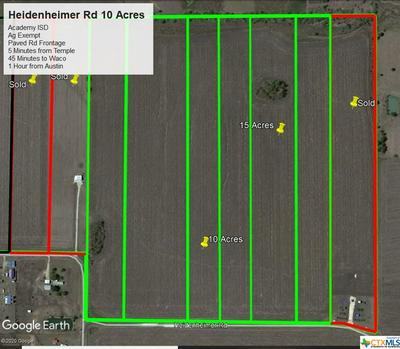 00 HEIDENHEIMER ROAD, Heidenheimer, TX 76533 - Photo 1
