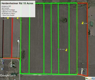 000 HEIDENHEIMER RD ROAD, Heidenheimer, TX 76533 - Photo 1
