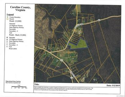 0 PERIMETER, MILFORD, VA 22514 - Photo 1