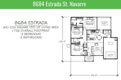 8684 ESTRADA ST, Navarre, FL 32566 - Photo 1