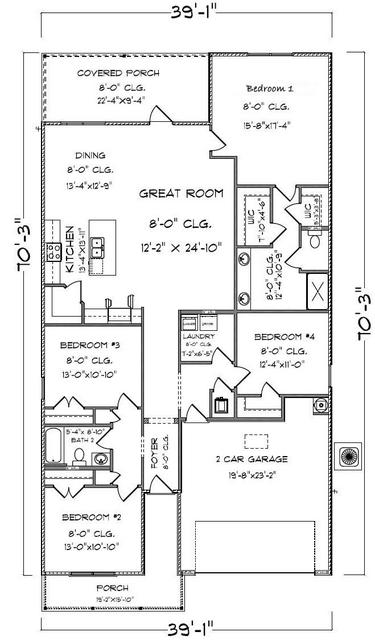510 EARL GODWIN RD LOT 21, Freeport, FL 32439 - Photo 2