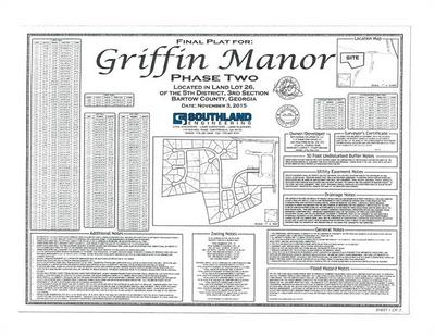 0 GRIFFIN MANOR LOTS (28 TOTAL LOTS), Cartersville, GA 30120 - Photo 2