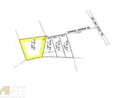 0 EMANUEL BARROW RD # LOT 4, Claxton, GA 30417 - Photo 1