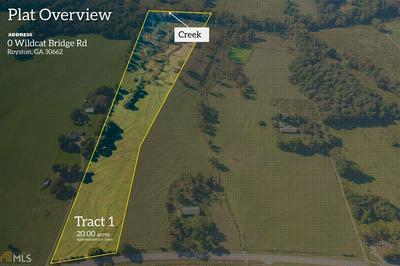 0 WILDCAT BRIDGE RD # TRACT 1, Royston, GA 30662 - Photo 1